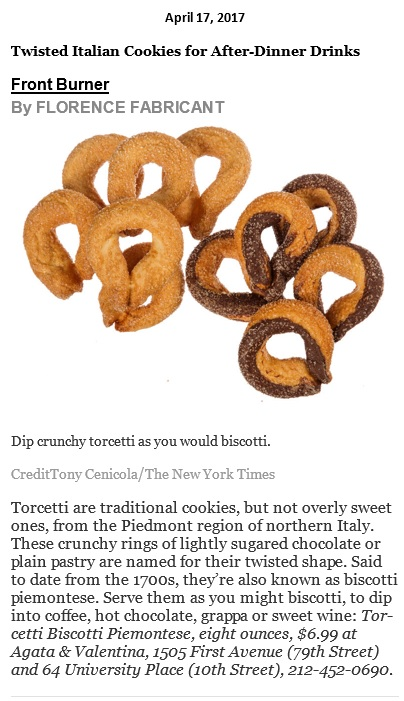 Twisted Italian Cookies...