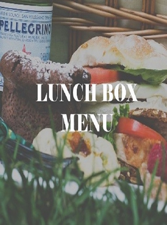 Lunch Box Menu